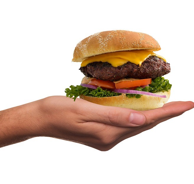 How does an impossible burger compare?