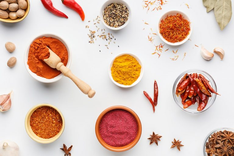 Spices help to add flavour to food, encouraging intake