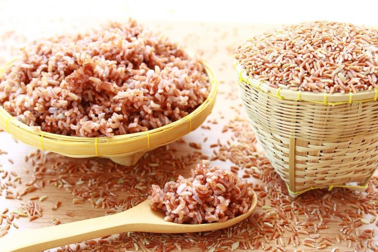 Essential pantry items: rice