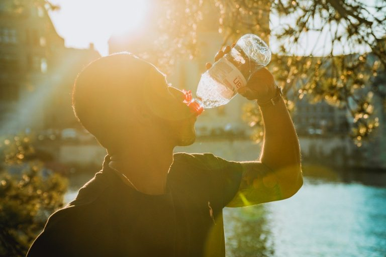 drinking water after workouts